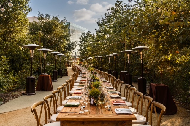 Farm to Table Dinner in the Nature Gardens