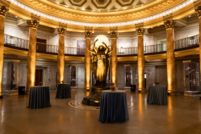 Reception in the Rotunda