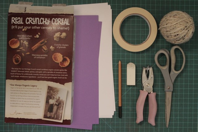 Materials needed to create your own journal