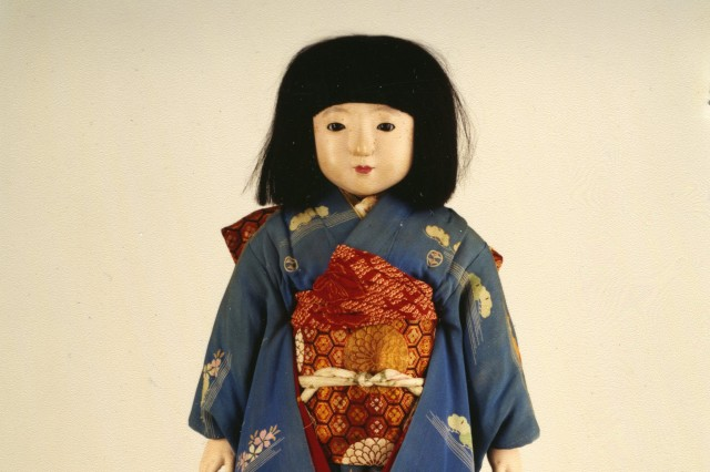 Japanese Friendship Doll from NHM collection