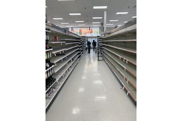 Courtney bread and soup out at Target