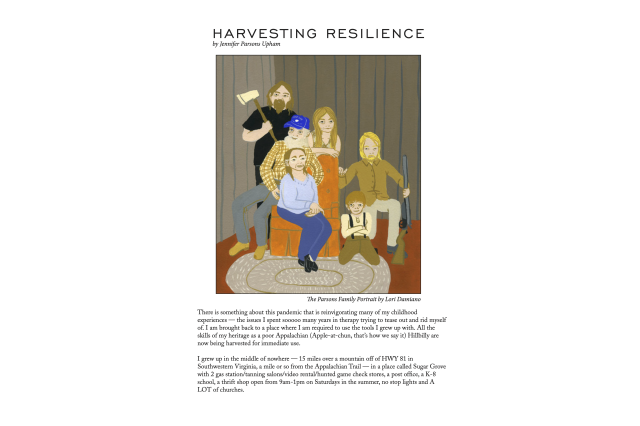 Harvesting Resilience Cover