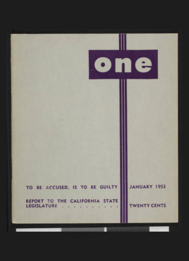 ONE Archives First Issue Cover