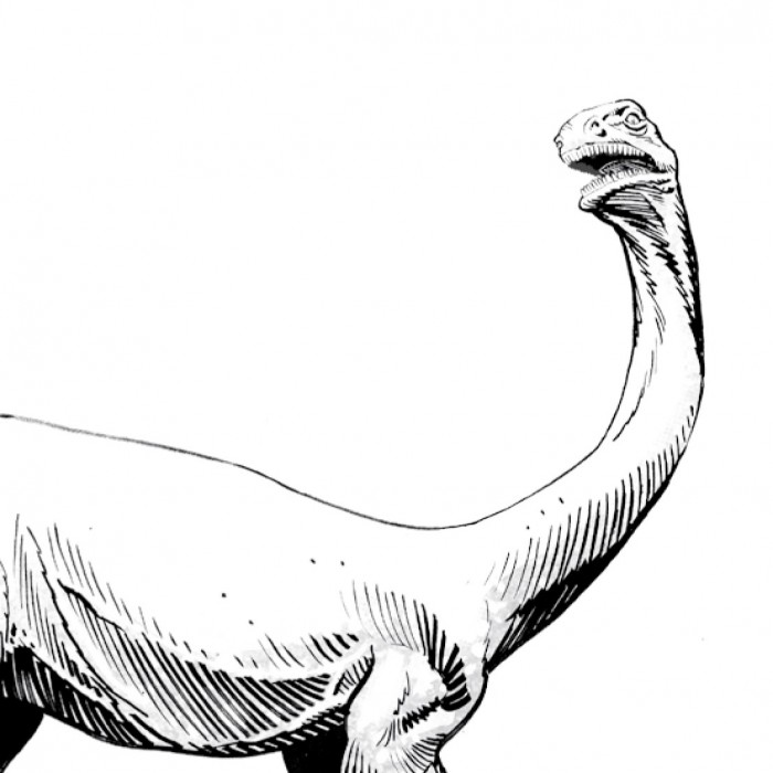 Preview of a dinosaur-themed coloring sheet