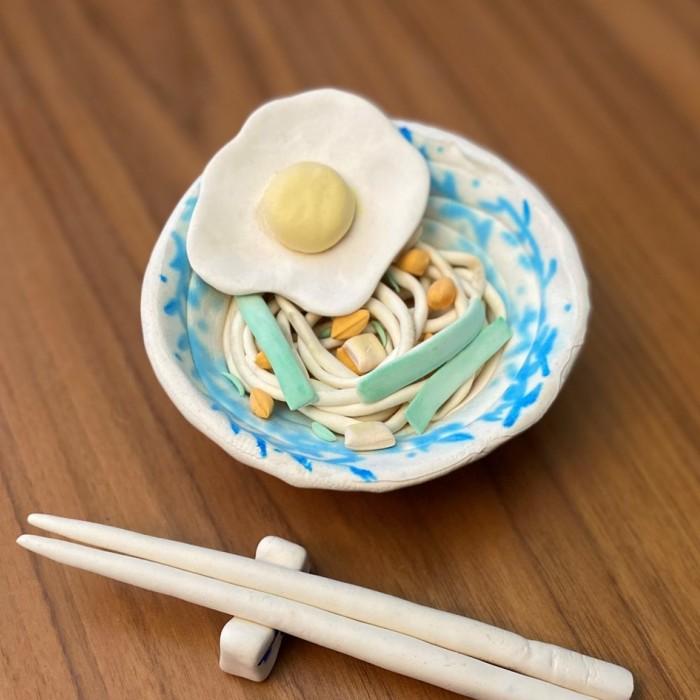 Audrey's noodles for the ofrenda
