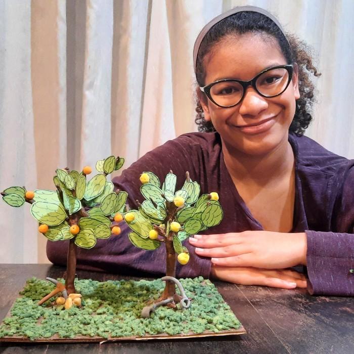 Nia and Trees