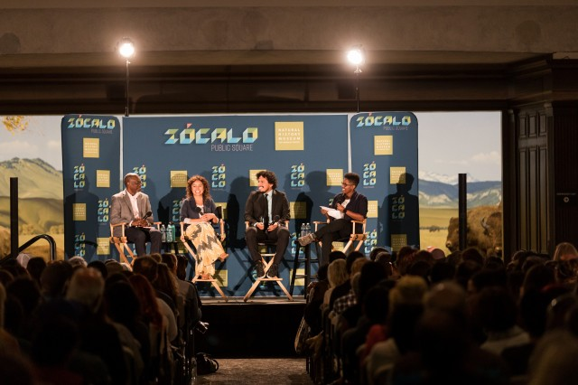 Zócalo Panel from October 2018 at the Natural History Museum of LA County in October 2018 in the North American Mammal Hall