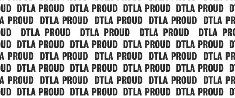 DTLA Proud Logo