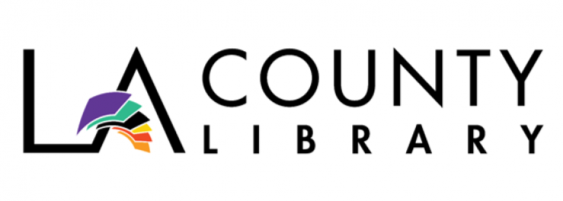This is the logo of the LA County Library