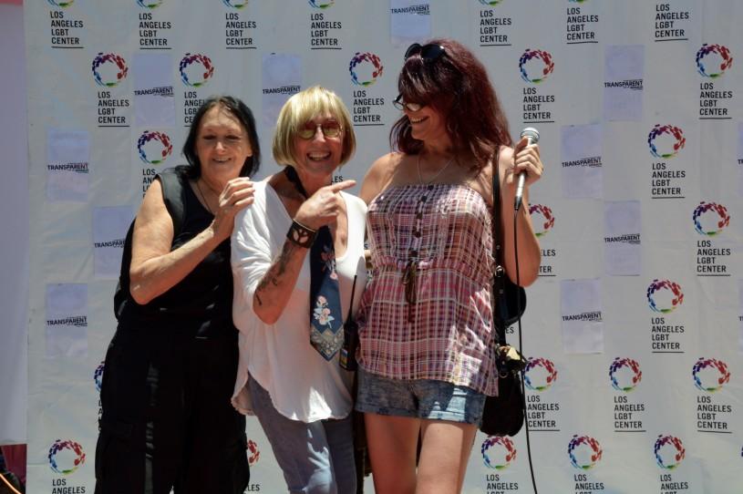 Gina Bigham at Trans Pride