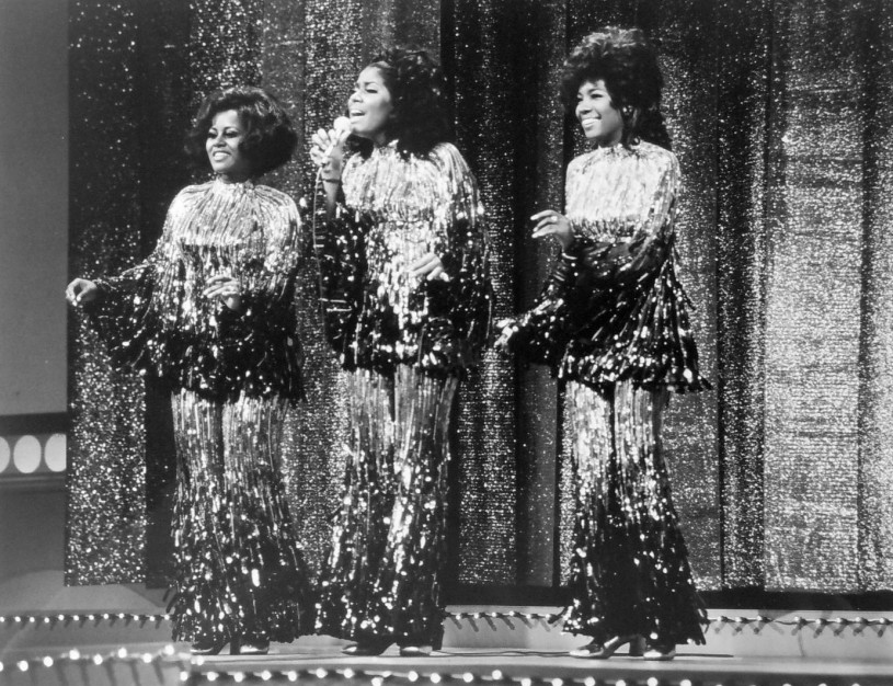 The Supremes,Cindy Armstrong, Jean Terrell, and Mary Wilson,in 1970.