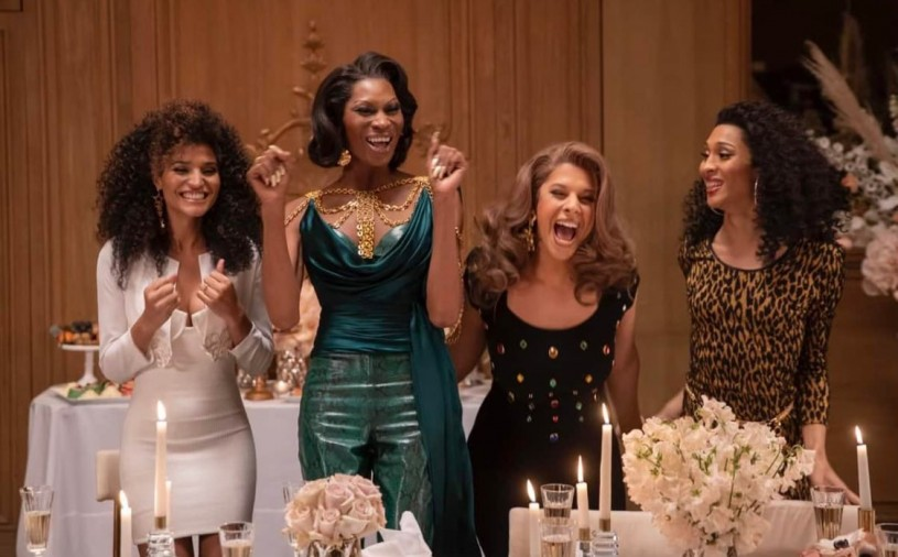 Cast of Pose smiling at an event