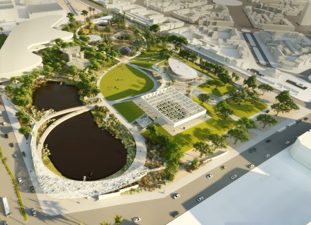 La Brea Loops and Lenses create new connections between Hancock Park and Page Museum