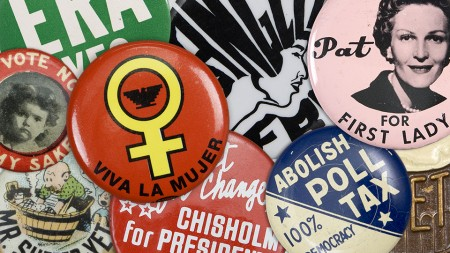 political buttons from Rise Up LA